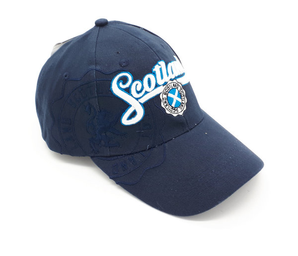 Baseball Cap Scotland Navy