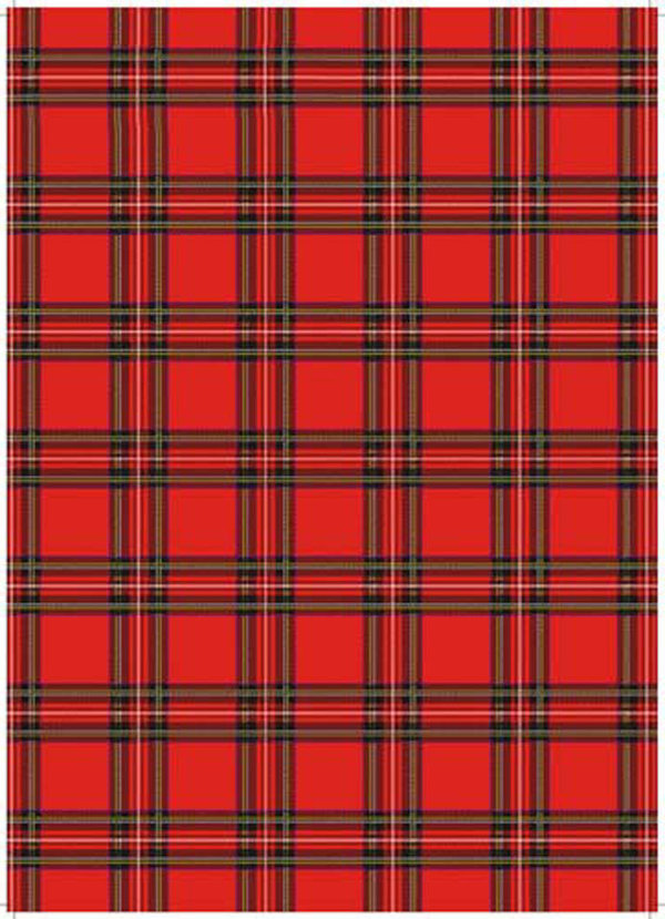 Tea Towel Red Stewart