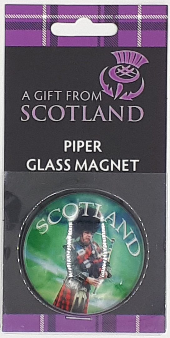 Scotland Piper Magnet