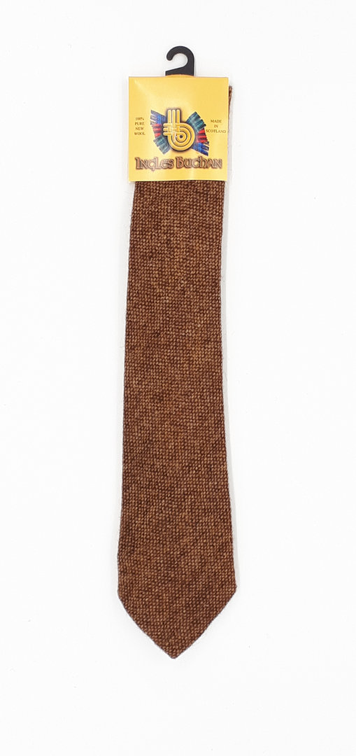 Classic Tweed Tie Earth Dust Needlepin