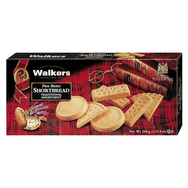 Walkers Traditional Shortbread Assortment 500g  (entspricht 17,80Euro je 1000g)